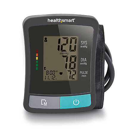 HealthSmart® Standard Series Automatic Upper Arm Blood Pressure Monitor