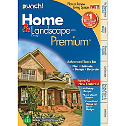 Punch home and landscape design premium v17 5 download version office depot for Punch home and landscape design premium