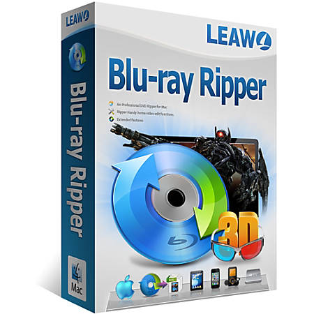 Leawo Blu-ray Ripper for Mac, Download Version