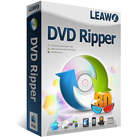 Leawo DVD Ripper for Mac, Download Version