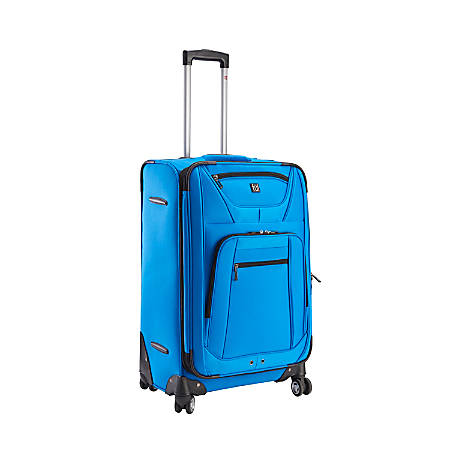 """ful Sequential Series Upright Rolling Suitcase, 20""""H x 14 1/4""""W x 7 3/4""""D, Cobalt"""