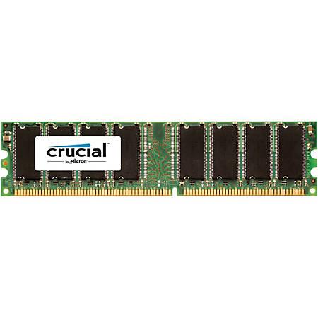 Crucial 512MB DDR-400 IDIMM 184pin