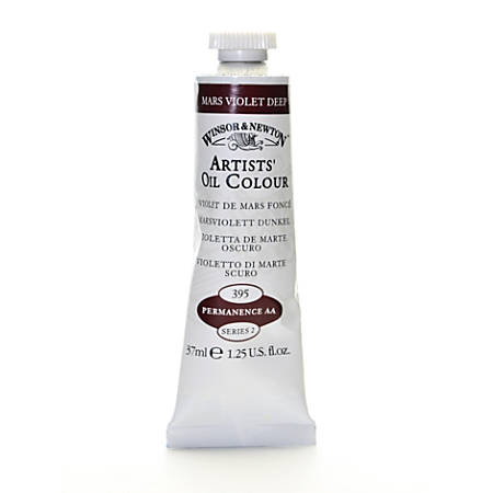 Winsor & Newton Artists' Oil Colors, 37 mL, Mars Violet Deep, 395