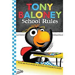 Scholastic Reader Tony Baloney School Rules