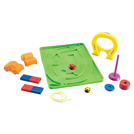 Learning Resources Magnetic Ladybugs Activity Set - Theme/Subject: Learning - Skill Learning: Science, Mathematics, Technology, Engineering - 5+