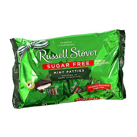 Russell Stover Sugar-Free Mint Patties, 10 Oz, Pack Of 2