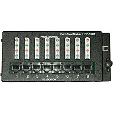 C2G 8 Port Cat5E Patch Panel