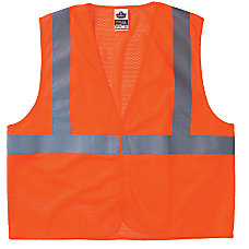 Ergodyne GloWear Safety Vests Economy Mesh