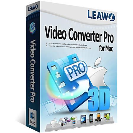 Leawo Video Converter Pro for Mac, Download Version