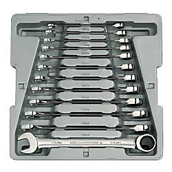 12PC METRIC RATCHETING WRENCH SET