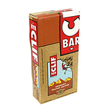 Clif Bar Bars Crunchy Peanut Butter