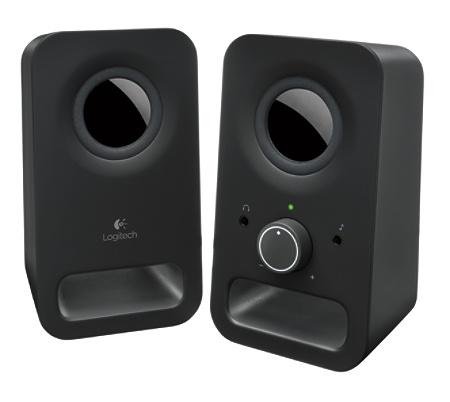 Logitech Z150 2 Piece Speakers Black By Office Depot OfficeMax