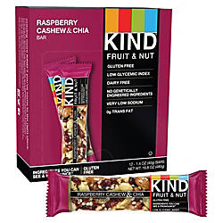 KIND Raspberry Cashew Chia Bars 16
