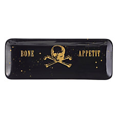 Amscan Ceramic Bone Appetit Serving Trays