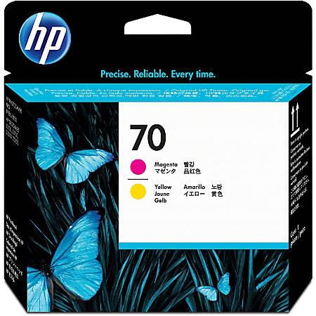 HP 70 (C9406A) Magenta/Yellow Inkjet Cartridge