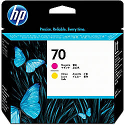 HP 70 C9406A MagentaYellow Inkjet Cartridge