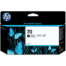 HP 70 C9448A Black Matte Ink