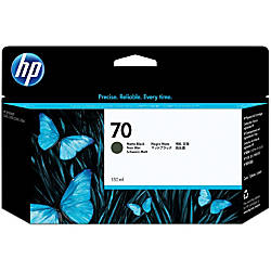 HP 70 C9448A Black Matte Ink