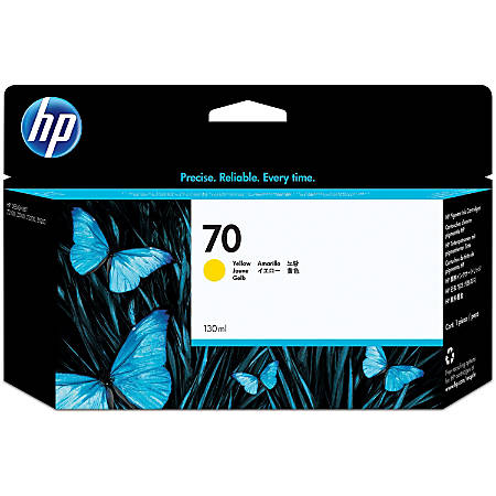 HP 70 (C9454A) Yellow Ink Cartridge
