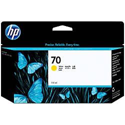 HP 70 C9454A Yellow Ink Cartridge