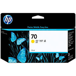 HP 70 C9454A Yellow Ink Cartridge
