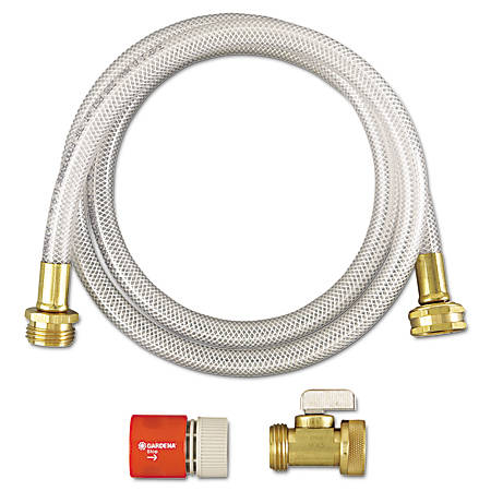"Diversey™ RTD® Water Hook-Up Kit, 3/8"" x 5', White/Gold"