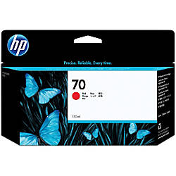 HP 70 C9456A Red Inkjet Cartridge