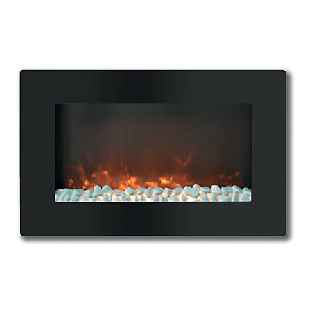 Cambridge Callisto CAM30WMEF-1BLK Electric Fireplace - Indoor - Wall Mountable