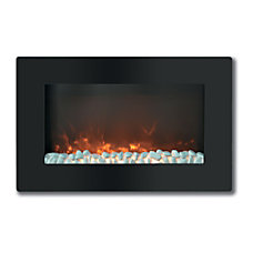 Cambridge Callisto CAM30WMEF 1BLK Electric Fireplace