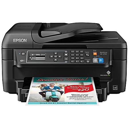 Epson® WorkForce® WF-2750 All-In-One Printer, Copier, Scanner, Fax