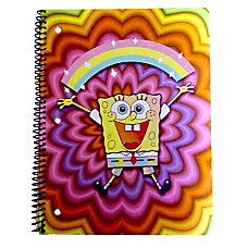 Nickelodeon SpongeBob Spiral Notebook 10 12