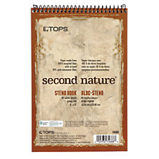 TOPS Second Nature Steno Books 6