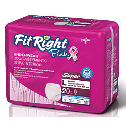 FitRight Protective Underwear National Breast Cancer