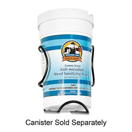 Buddy Hand-Sanitizing Wipes Canister Holder/Rack, Black