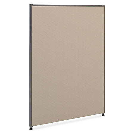 """basyx by HON® Verse Panel System, 42""""H x 24""""W, Gray"""