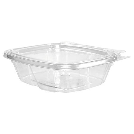 "Dart® ClearPac® Containers, 5 1/2""H x 4 15/16""W x 1 1/2""D, 0.25 Qt, Clear, Carton Of 200 Containers"
