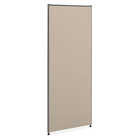 """basyx by HON® Verse Panel System, 60""""H x 24""""W, Gray"""