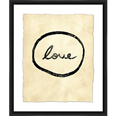 PTM Images Framed Wall Art Love