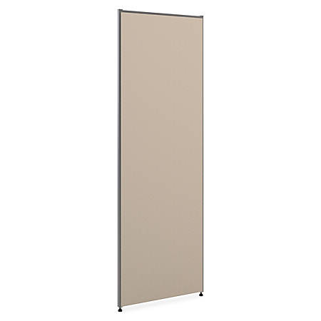 """basyx by HON® Verse Panel System, 72""""H x 24""""W, Gray"""