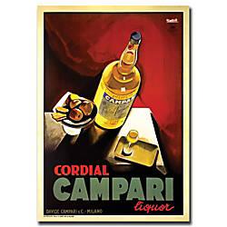 Trademark Global Cordial Campari Liquor Gallery