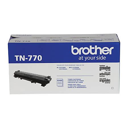 Brother® TN-770 Extra-High Yield Black Toner Cartridge