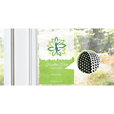 Perforated Window Decal