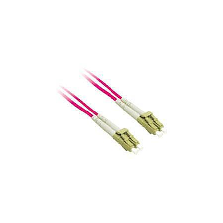 C2G 2m LC-LC 9/125 OS1 Duplex Singlemode Fiber Optic Cable (Plenum-Rated) - Red - 2m LC-LC 9/125 Duplex Single Mode OS2 Fiber Cable - Plenum CMP-Rated - Red - 6ft
