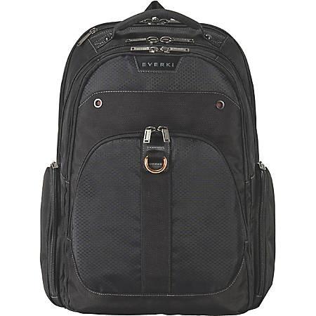"Everki Atlas EKP121 Carrying Case (Backpack) for 17.3"" MacBook Air - Felt Interior - Checkpoint Friendly - Shoulder Strap - 18.2"" Height x 13.4"" Width x 9.1"" Depth"
