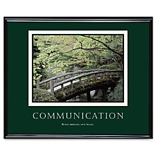 inspirational posters for office. advantus motivational print communication inspirational posters for office