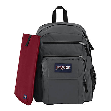 JanSport Digital Big Student Backpack For 15 Laptops Gray by ...