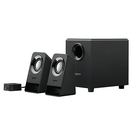 Logitech® Z213 Multimedia Speakers, Black