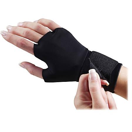 Dome Flex-Fit Therapeutic Support Gloves, Small, Black
