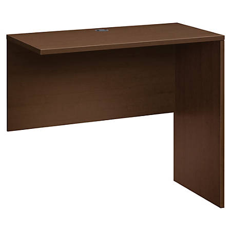 "HON 10500 Standing-Height Return Shell - 48"" x 24"" x 42"" - Square Edge - Finish: Mocha, Thermofused Laminate (TFL)"