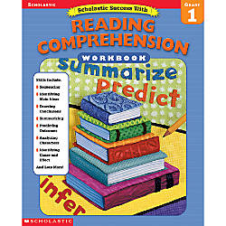 Scholastic Reading Comprehension Workbook Grade 1